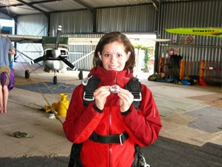 Potato and Me Skydiving in Cape Town