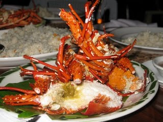 Lobster Feast in El Nido, Palawan