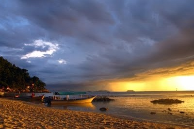 Sunsets and Storms on Malaysia's Perhentian Kecil