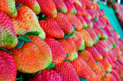 Strawberries from just outside Chiang Mai
