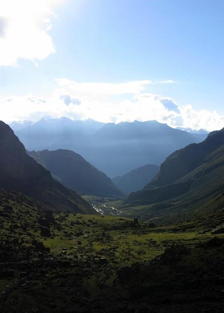 Climbing Salkantay to Macchu Picchu in Peru