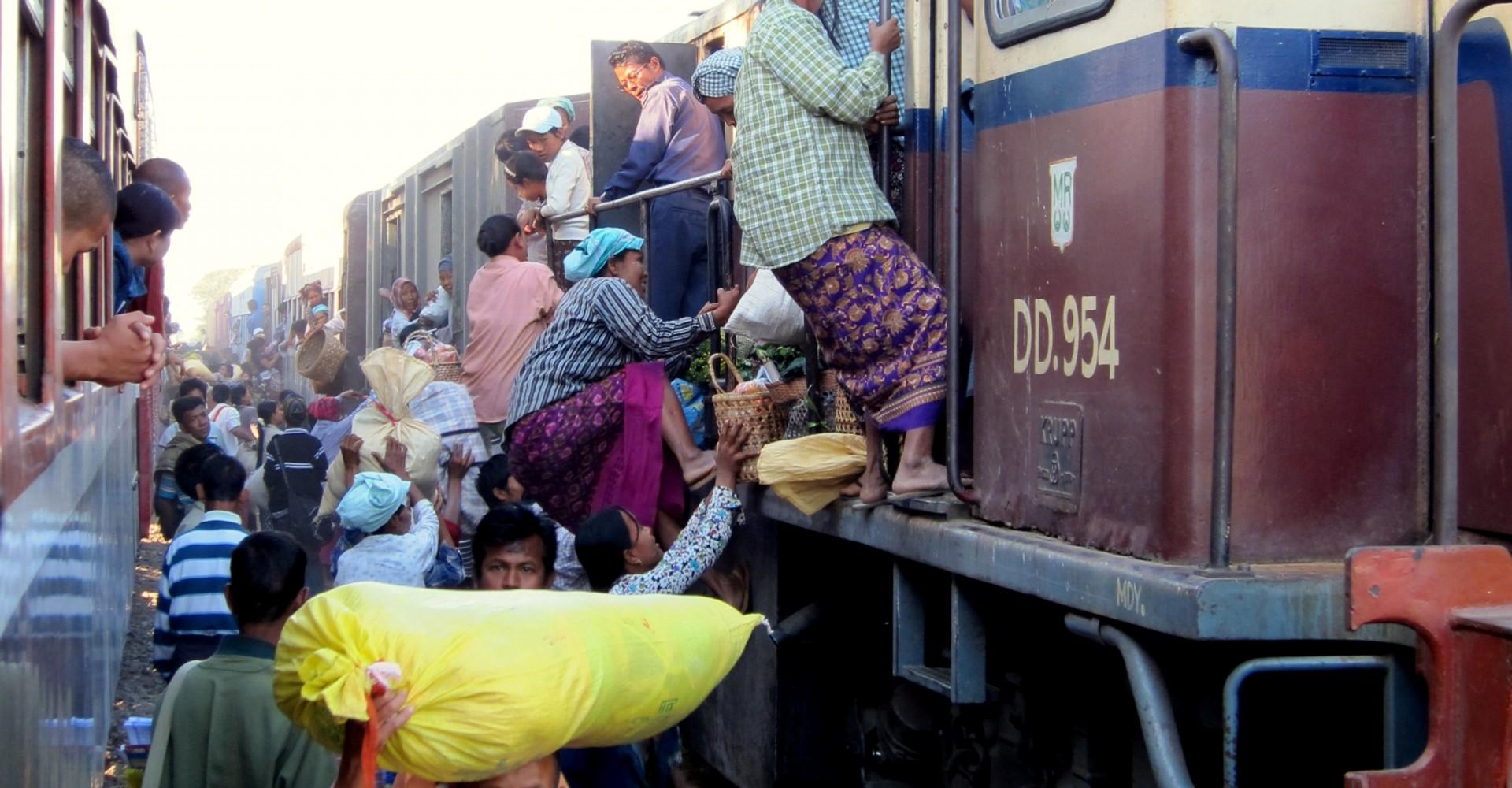 A Train Trip to Remember: Mandalay to Myitkyina