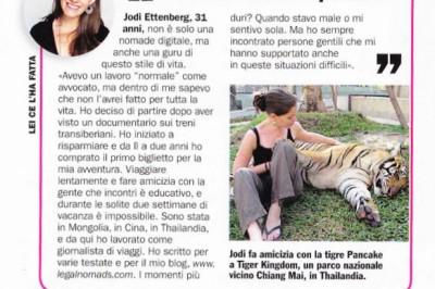 Cosmo Italy Interview - Jodi Ettenberg