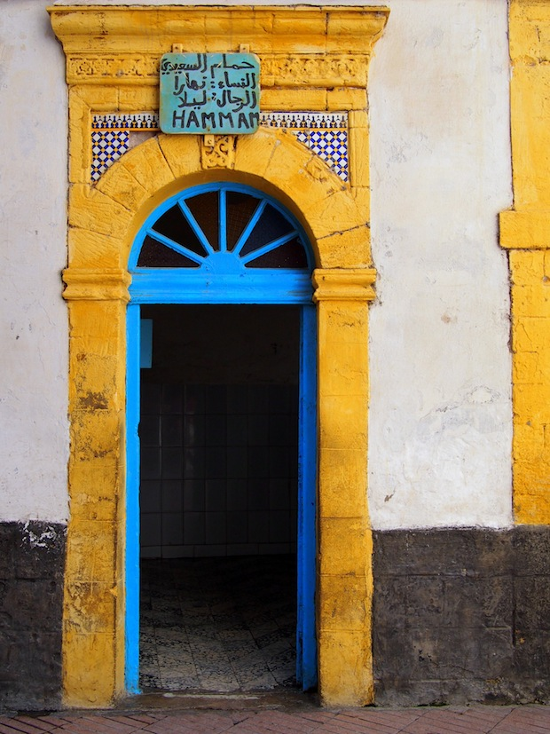 Hammam in Essaouria's old city