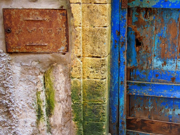 Old doorways in Essaouria