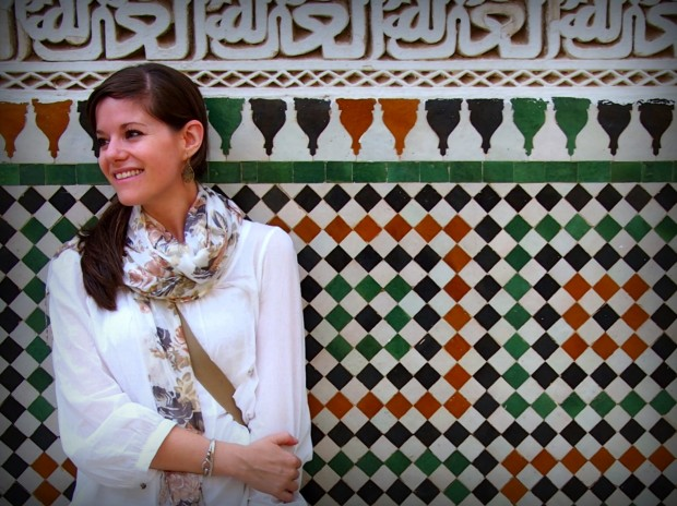 Jodi Ettenberg in Meknes, Morocco