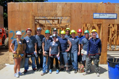 WDS 2012 Habitat for Humanity Build in PDX