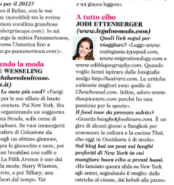 Jodi Ettenberg Cosmopolitan Italy