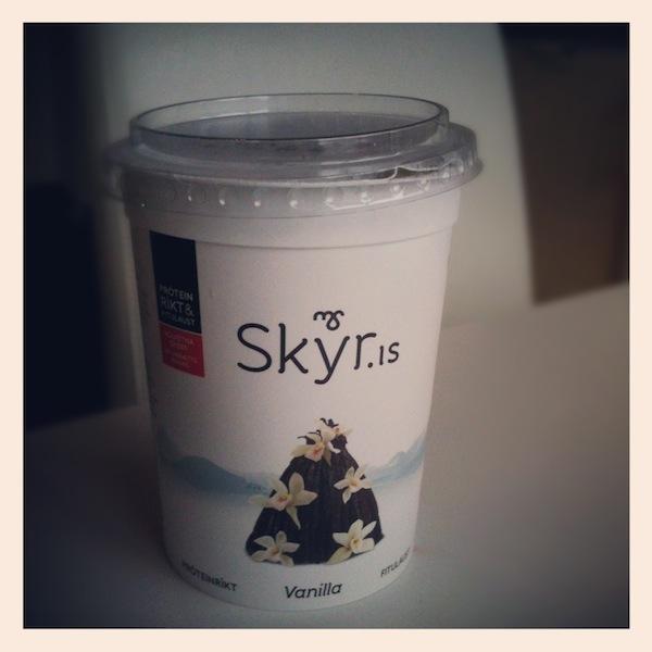 Vanilla Skyr in Iceland