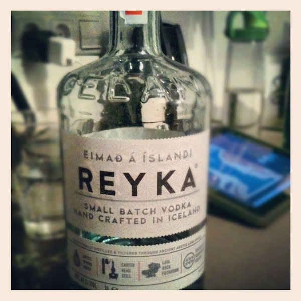 Reyka Vodka in Iceland
