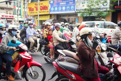 Saigon's Xe Om: Motorcyle Taxi Drivers that Made Me Smile